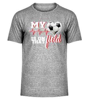 Soccer Heart on field