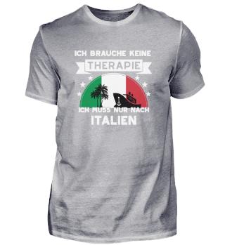 Keine Therapie, nur nach Italien!