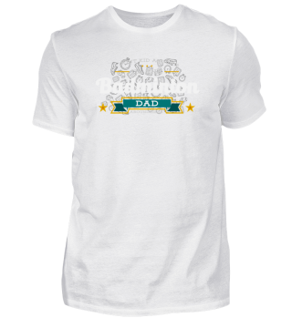 Badminton Dad T-Shirt Gift