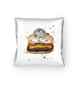 Funny Burger Cat | Cats | Katze | Katzen