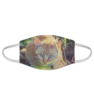 Gesichtsmaske mit Katzenmotiv 20.17
