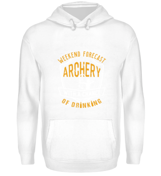 Weekend Forecast Archery With A Chance Of Drinking
