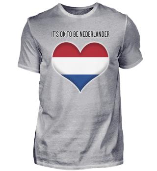 IT'S OK TO BE NEDERLANDER| #itsok