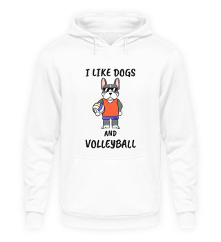 Volleyball Dog Sports spell Gift