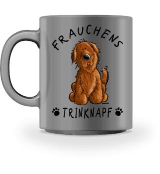 Frauchens Trinknapf Neufundländer Braun