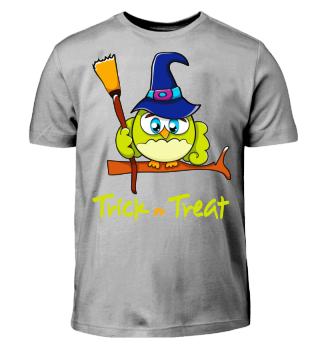 Trick or Treat-Halloween Owl