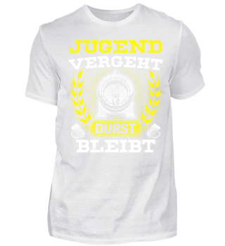 VERGEHT DURST BLEIBT OKTOBERFEST T-SHIRT BIER