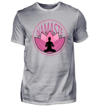 Yoga Namaste Lotus - Gift Idea