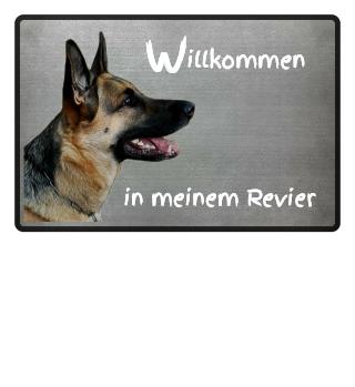 Fußmatte Schäferhund Wachhund