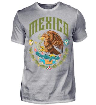 Mexico Ramirez Herren T-Shirt Kurzarm