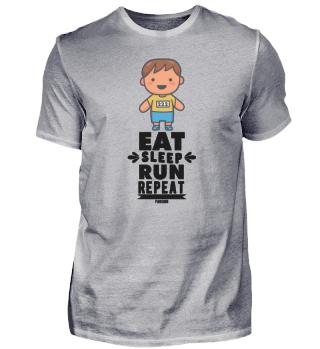 Child Jogging Running Race Sport