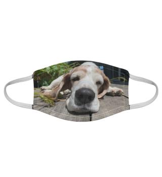 Gesichtsmaske mit Hundemotiv 20.5