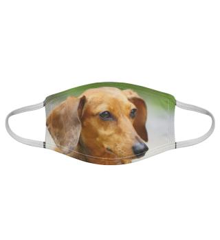 Gesichtsmaske mit Hundemotiv 20.2