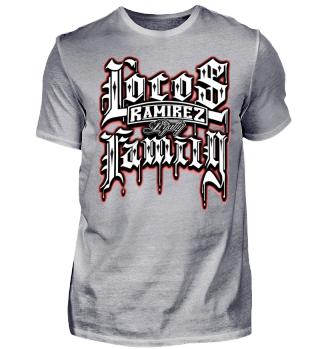 Herren Kurzarm T-Shirt Locos Family Ramirez