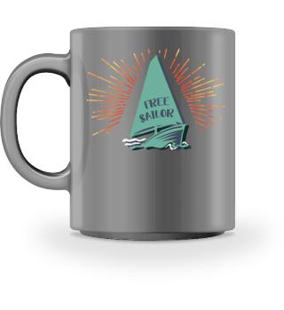 Sunset Sailor Cup