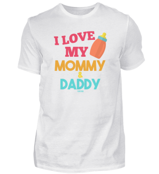 I love mom and dad baby gift