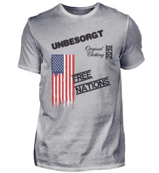 UNBESORGT ORIGINAL - FREE NATIONS