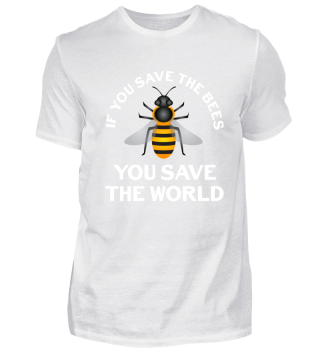 Save The Bees Rescue Insects World Gift