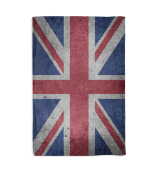 United Kingdom Union Jack Flag Grunge 2a
