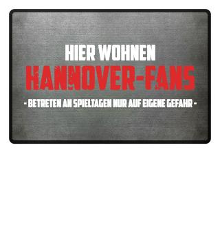Hier wohnen Hannover-Fans