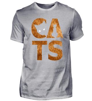 I Love Cats - Friendly Animal Gift