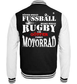 Fussball,Rugby,Motorrad
