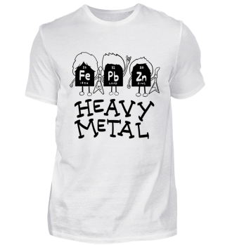 Heavy Metal Singer Rock Music Guitar Chemistry Cool Funny Quote Gift