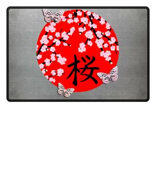 ♥ Cherry Blossom Kanji SAKURA 8