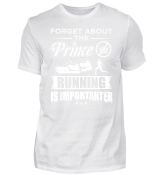 Running Runner Shirt Forget Prince