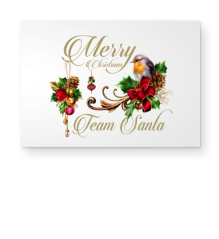 ☛ MERRY CHRISTMAS · TEAM SANTA #1GF