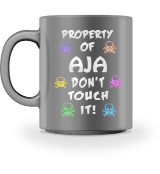Property of Aja Mug