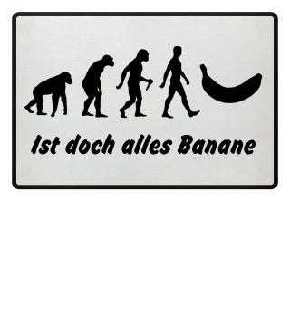 Evolution Of Humans - Banana Ia