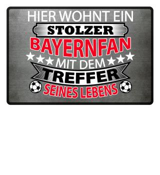Stolzer Bayernfan