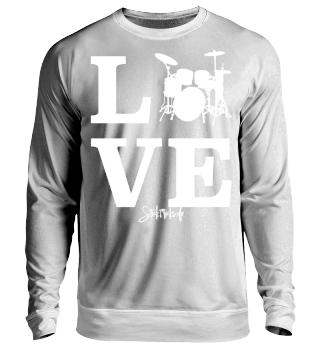 Drummer Shirt - Schlagzeug LOVE
