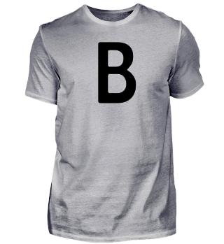 Berlin, B - deine Stadt auf deinem Shirt
