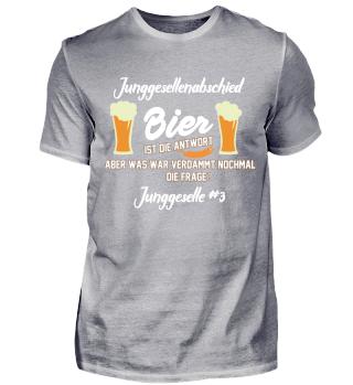 Junggesellenabschied - Bier 3#