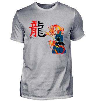 Samurai-Drachenzeichen