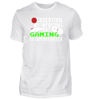 Education Is Important ... Gaming ...