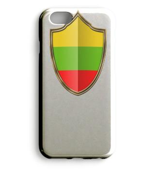 Litauen-Lithuania Wappen Flagge 016