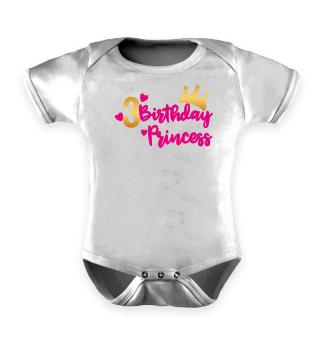 Third Baby Birthday Princess