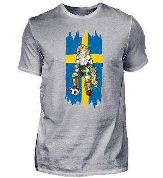I Sweden Einhorn Fussball Schweden