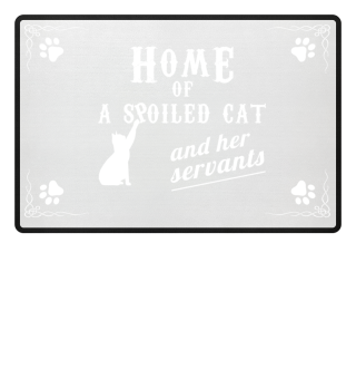 HOME OF A CAT PREMIUM DOORMAT