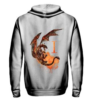 Drachen Buchstabe I