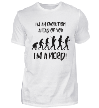 The Evolution of Nerd Shirt Tee nerd