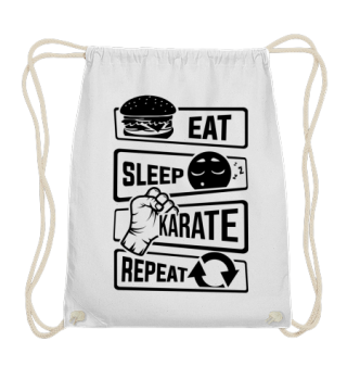 Eat Sleep Karate Repeat - Martial Arts