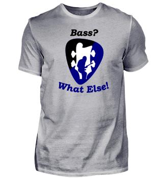 Das Shirt für Bassisten in Englisch