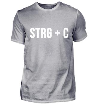 Copy Strg C Vater Sohn Shirt Geschenk