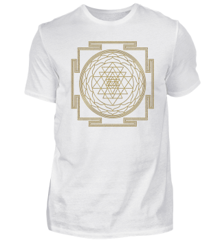 SRI YANTRA - luck prosperity I - gold
