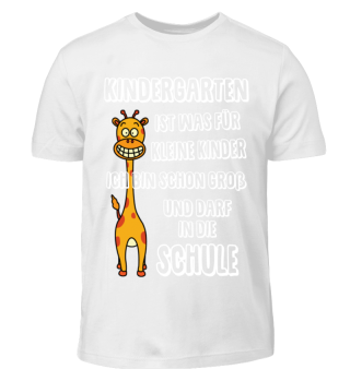 Lustiges Kinder-Shirt - Schulanfang