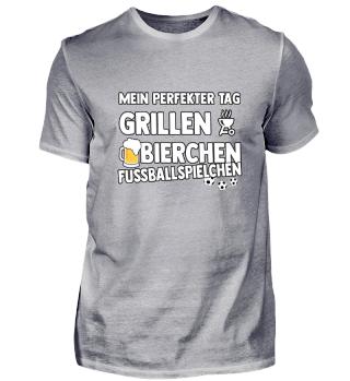 Perfekt - Grillen - Bier - Fussball